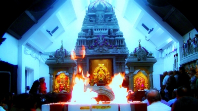 Ganesh Temple of Wimbledon Celebrates Annual Event : Maha-Ganapathy Homam